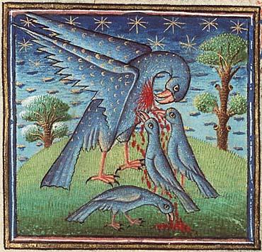 Pelican, Museum Meermanno, MMW, 10 B 25, Folio 32r