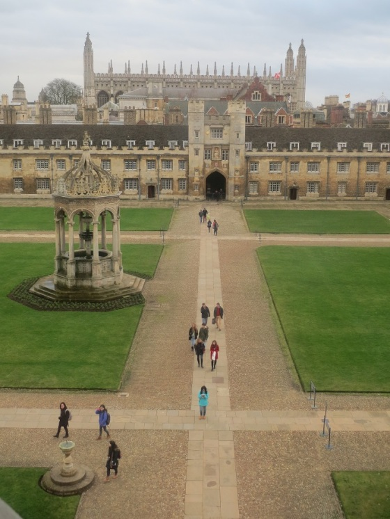 Great Court from Clock Tower