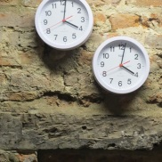 Two less illustrious timepieces