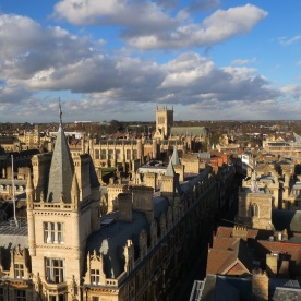 View over Caius to Trinity and John's