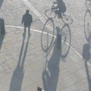 Long shadows, taken from GSM tower window