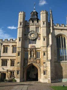 St Edward's Gate, Trinity College. Photo from wikimedia.
