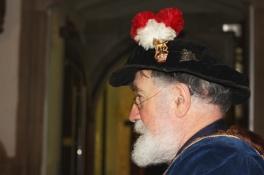 Herald's hat pin