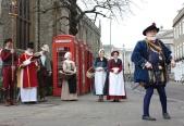 Tudors on parade