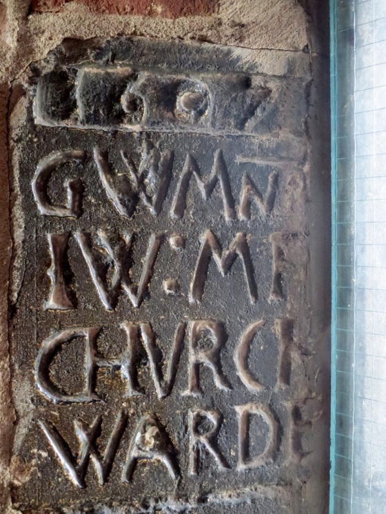Tower inscription