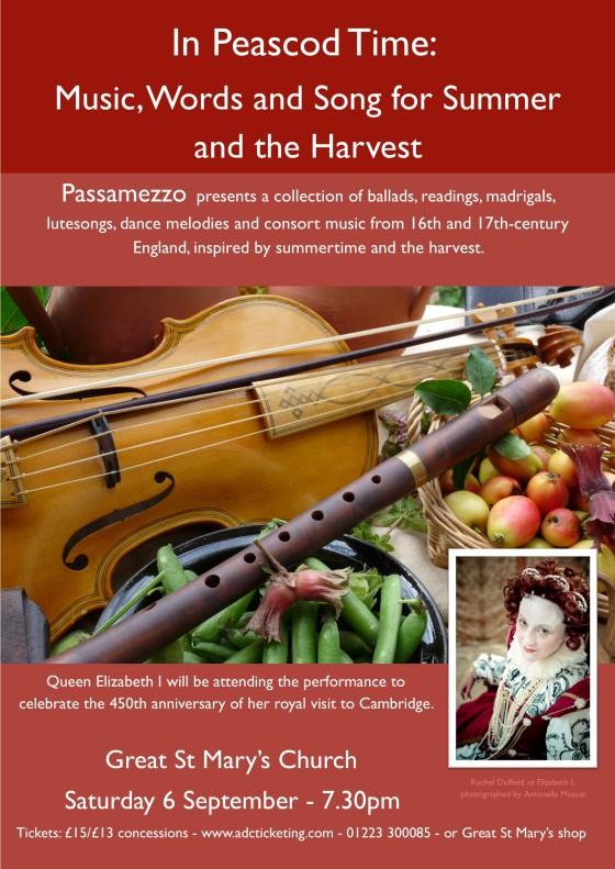 Passamezzo concert poster image