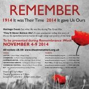 WWI theatre event.