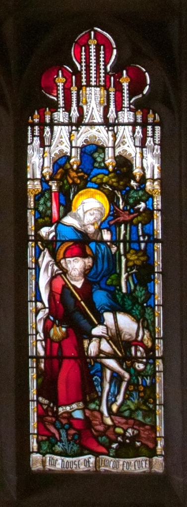 Detail of GSM's east window. Photograph by Cipher Arts Ltd.