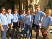 Summer volunteer team. Photo courtesy of historyworks.